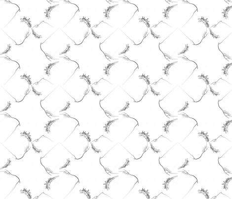 Armadillo Herd fabric by anniedeb on Spoonflower - custom fabric