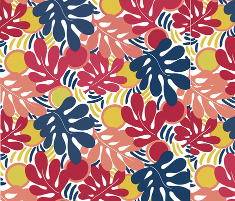 Matisse_Final3 fabric by ridley on Spoonflower - custom fabric