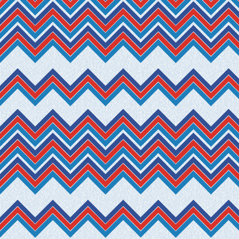 Nautilus_chevron fabric by kirpa on Spoonflower - custom fabric