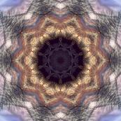 Pastel tree Star tile51