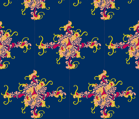 matisse4 fabric by e_louise_ on Spoonflower - custom fabric