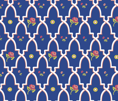 Provencal Boheme fabric by melachmulik on Spoonflower - custom fabric