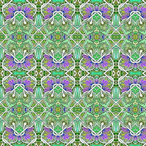 Clover All Over fabric by edsel2084 on Spoonflower - custom fabric