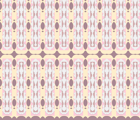 Negative Spaces 2 fabric by robin_rice on Spoonflower - custom fabric