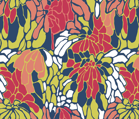 pattern_matiss-1 fabric by smalty on Spoonflower - custom fabric