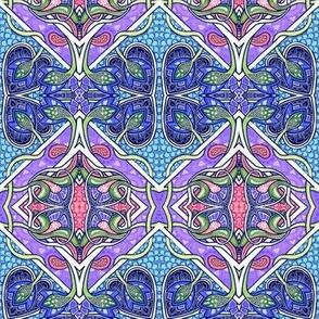 Spade Mosaic (diagonal patch)