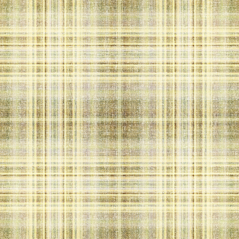 Sanded Linen Plaid in taupe fabric by joanmclemore on Spoonflower - custom fabric