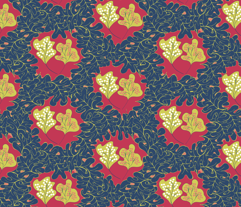 For Matisse fabric by wednesdaysgirl on Spoonflower - custom fabric