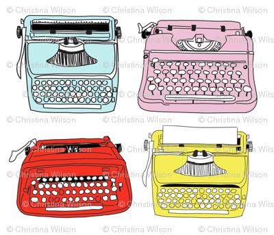 Typewriters Mixed