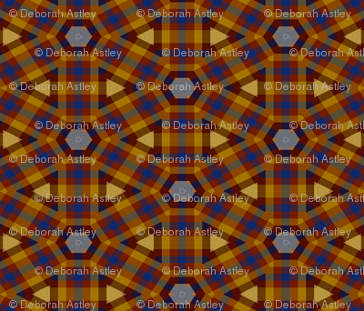 Plaid in a Circle