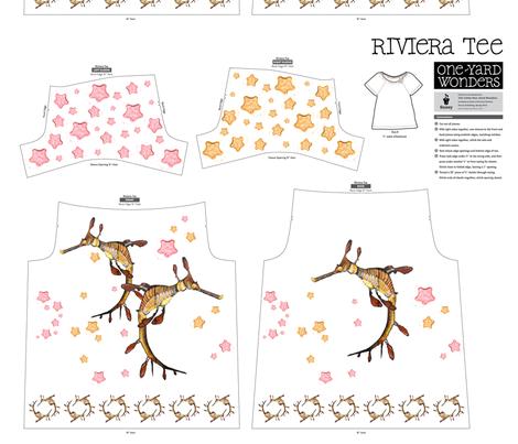 Under_the_sea fabric by tat1 on Spoonflower - custom fabric