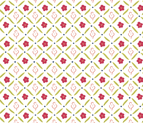 Sunday Afternoon fabric by dreamincolour on Spoonflower - custom fabric