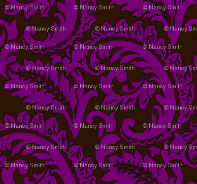 Damask Fuschia