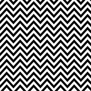Black N White Zag