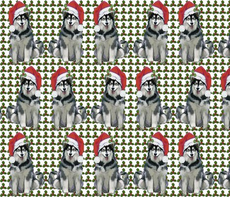 1593551_ralaskan_malamute_christmas_shop_preview