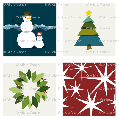 Holiday Napkins