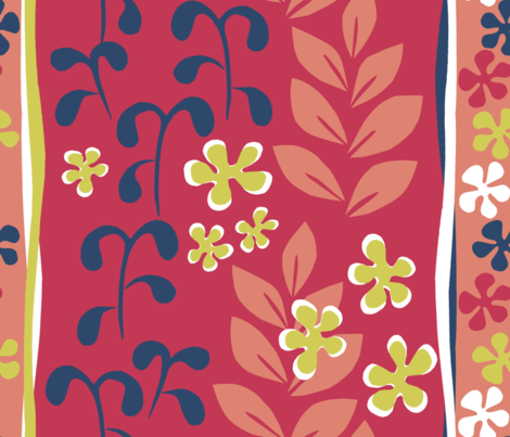 hommage_Matisse fabric by sraka on Spoonflower - custom fabric