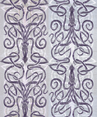 Kraken wrapping with white
