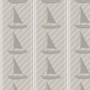 Winter Beach Collection - Sailboats