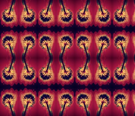 Last Dandelion of Summer fabric by robin_rice on Spoonflower - custom fabric