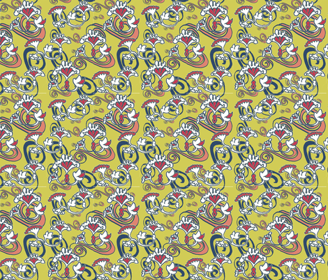 fleurs_d_etoile-ch fabric by zega on Spoonflower - custom fabric