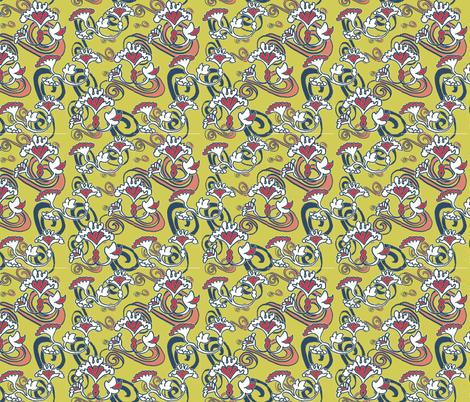 fleurs_d_etoile-ch fabric by zega on Spoonflower - custom fabric
