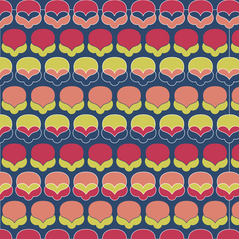 Matisse Pattern fabric by creative_merritt on Spoonflower - custom fabric