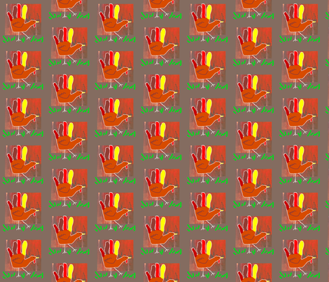 Turkey Lurkey fabric by robin_rice on Spoonflower - custom fabric
