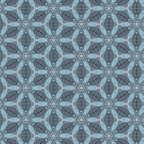 ice flowers fabric by heikou on Spoonflower - custom fabric