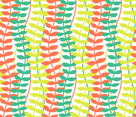 matisse inspired - tropical colorway fabric by ravynka on Spoonflower - custom fabric