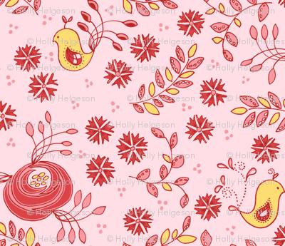 Love Birds - Pink