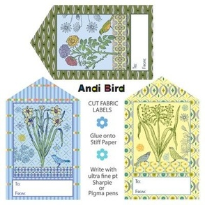 Bird Gift Labels / Decals