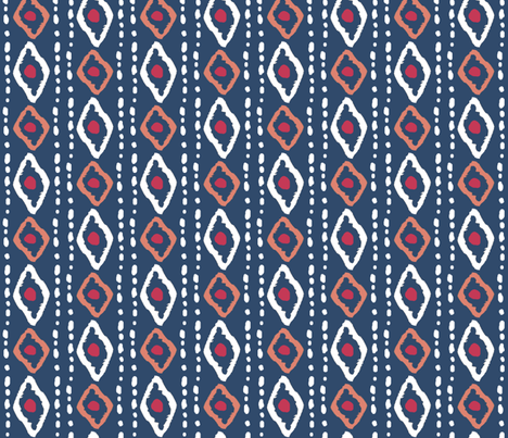 matisse_stripe fabric by katarina on Spoonflower - custom fabric