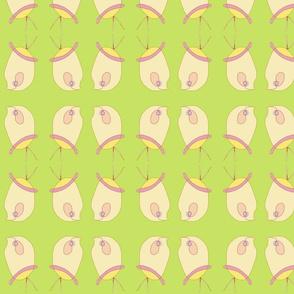 Leggy Bird – green