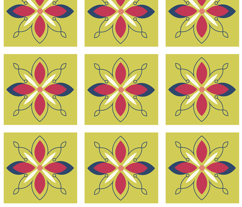 Matisse Fabric fabric by bethanysdesigns on Spoonflower - custom fabric
