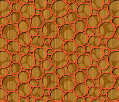 orangespots fabric by melhales on Spoonflower - custom fabric