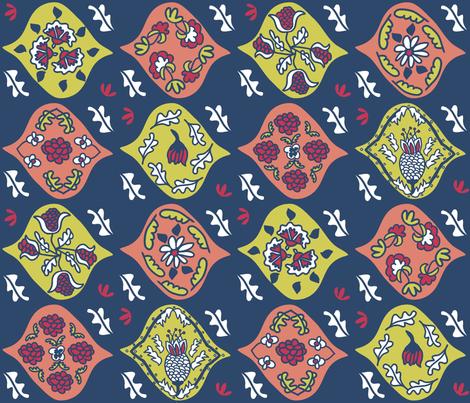 "Matisse ""Magic Carpet"" Textile (Nasher) fabric by pattyryboltdesigns on Spoonflower - custom fabric"