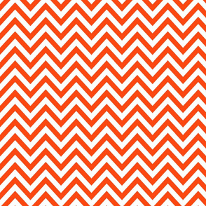 Orange n White Zag