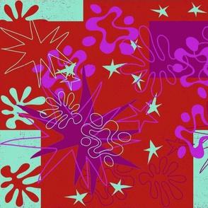 Matisse Inspired RedViolet