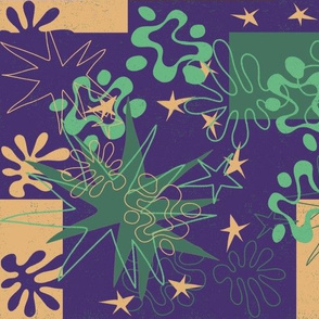 Matisse Inspired Cream background