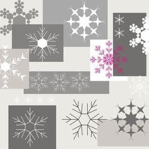Snowflake Grey