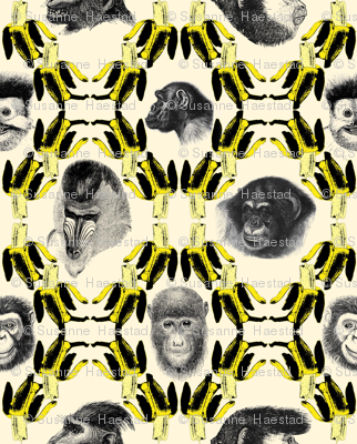Bananas and Monkeys small size