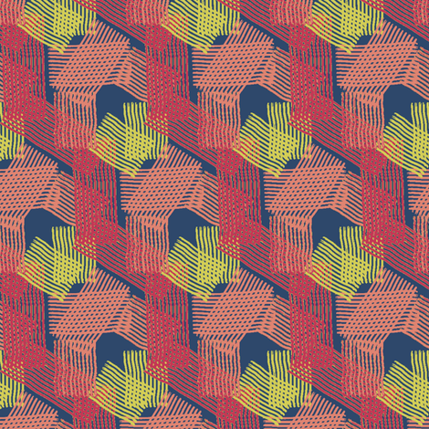 strokes3 fabric by sydama on Spoonflower - custom fabric
