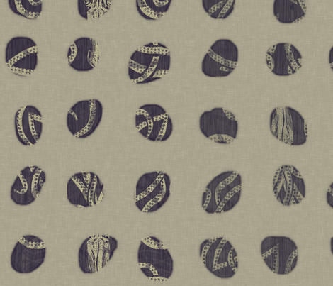 Peekin Deep Kraken fabric by wren_leyland on Spoonflower - custom fabric