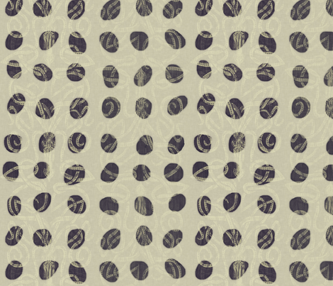 Polka Pods fabric by wren_leyland on Spoonflower - custom fabric