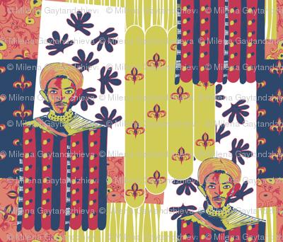 Fabrics trader