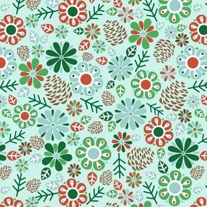 Woodland Floral #1