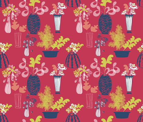 spoon_Matisse fabric by bethanialimadesigns on Spoonflower - custom fabric