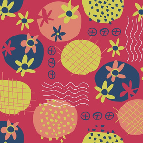 Motifs a la Matisse