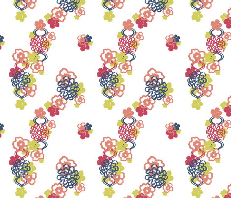Matisse Garden fabric by sonalnathwani on Spoonflower - custom fabric